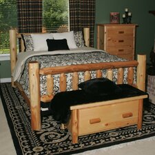 212 -Moon Valley Slat Panel Bed