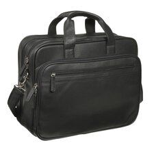 The Bostonian Leather Laptop Briefcase