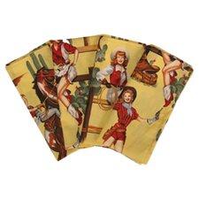 Western Lolitas Napkin (Set of 4)