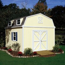 Premier Series 12 Ft. W x 24 Ft. D Wood Storage Shed