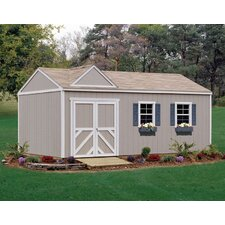 Premier Series 12 Ft. W x 20 Ft. D Wood Storage Shed