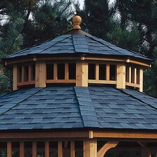 San Marino Two-Tier Roof for 12' W Gazebo