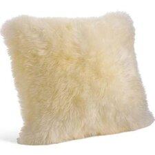 Mongolian Lamb Throw Pillow