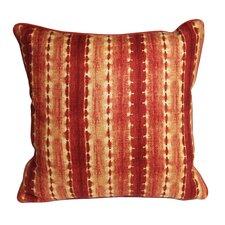 Morrocan Henna Ikat Accent Cotton Throw Pillow