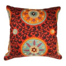 Tribal Threads Sunset Accent Cotton Euro Pillow
