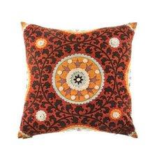 Tribal Threads Suzani Accent Cotton Throw Pillow
