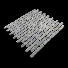 Natural Stone Sticks Mosaic Tile Tile in Grey