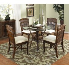 Polynesian 5 Piece Dining Set