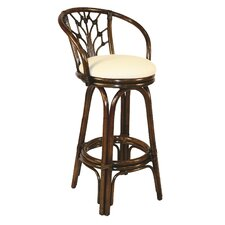 "Valencia 30"" Swivel Bar Stool with Cushion"
