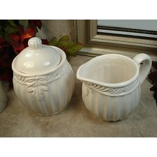 Couture Line Sugar and Creamer Set