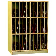 Cubby Portfolio Vertical Mailbox Storage Unit