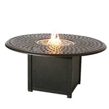 Series 60 Dining Table with Firepit