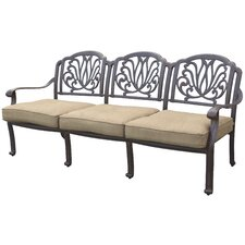 Elisabeth Deep Seating Sofa with Cushion