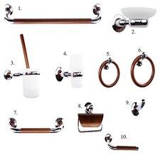 American Cherry 10 Piece Bathroom Accessory Set