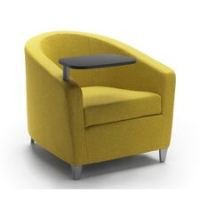 Playful Lounge Chair with Tablet and Casters