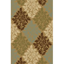 Kings Court Natural Avalon Floral Rug