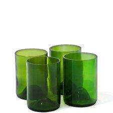 Wine Bottle Rocks Glass (Set of 4)