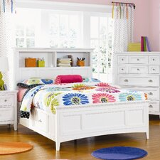 Kenley Bookcase Panel Bed