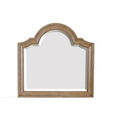 Cloverton Cove Crowned Top Mirror