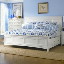 Kentwood Panel Bed With Storage Drawers