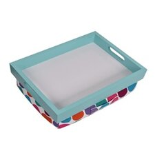 Lap Desk Laptop Cushion Tray Dot with Handle