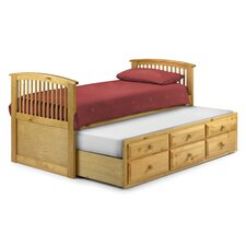 Horatio Captain's Single Storage Bed Frame with Trundle