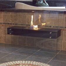 La Strada Freestanding Bio Ethanol Fuel Fireplace