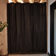 "108"" H x 120"" W Fabric Room Divider Curtain Panel"