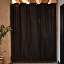 "Fabric Room Divider Curtain, 108"" Tall x 180"" Wide Panel"
