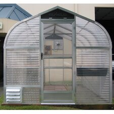 7.5 Ft. W x 10 Ft. D Acrylic and Aluminum Greenhouse