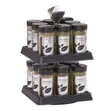 16 Jar Madison II Spice Rack