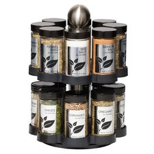 16 Jar Round Madison Spice Carousel