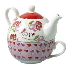 Love 2 Piece Tea Set