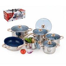 12 Piece Jumbo 7 Layer Stainless Steel Cookware Set