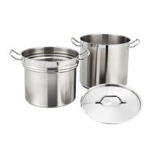 Alu Double Boiler with Lid