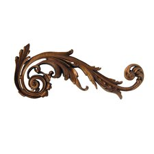 Right Embellished Scroll Wall Décor