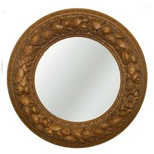 Nut Ring Mirrored Ceiling Medallion