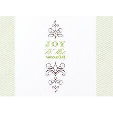 Joyful Elegance Holiday with Swarovski™ Crystal (Set of 100)