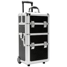 Beauty Case with Movable Dividers and Deep Well Bottom