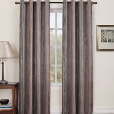 Trey Striped Room Darkening Single Curtain Panel