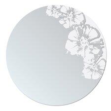 Flaunt Floral Round Mirror