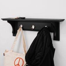 Bennet Shelf with 3 Hooks