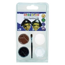 Pirate Mini Face Painting Clam Shell Kit (Set of 2)