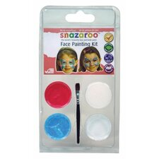 Butterfly Mini Face Painting Clam Shell Kit (Set of 2)