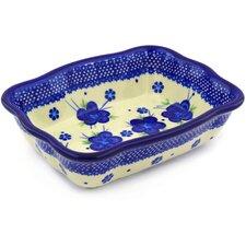 Polish Pottery Rectangular Baker