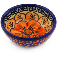 Polish Pottery 4 oz. Stoneware Bowl