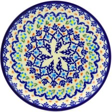 "Polish Pottery 7"" Stoneware Plate"