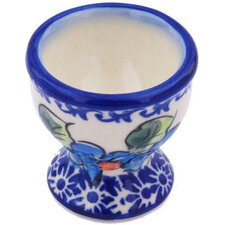 "Polish Pottery 2"" Egg Holder"