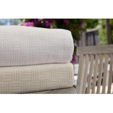 Luxury Bamboo Cotton Basket Weave Blanket