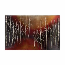 "Urban Hand Crafted Abstract Trees 38"" Metal Art Wall Decor"